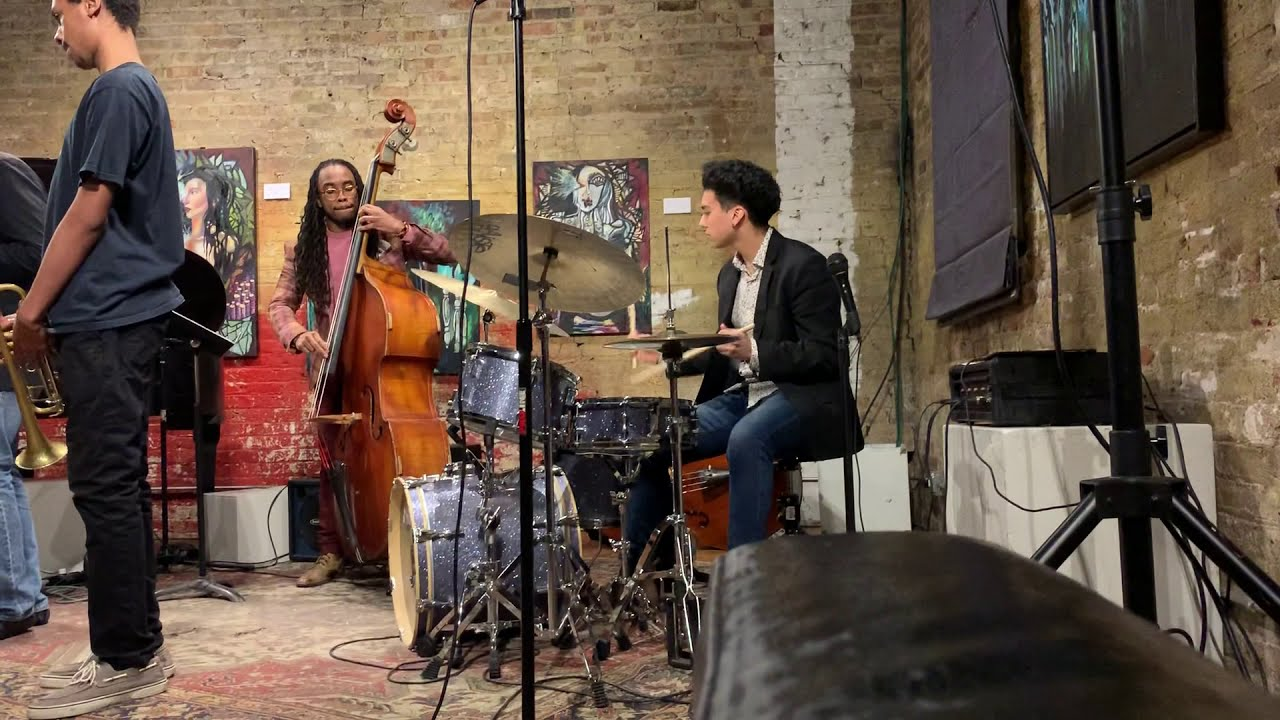 Alejandro Salazar Quintet playing Marquis Hill's The Way We Play/Minority