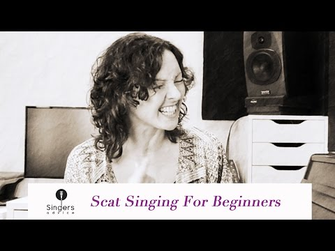 Scat singing for beginners // Singers Advice