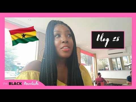 MY FIRST WEEK BACK IN GHANA | THE BLACK TRAVELISTA | VLOG 28