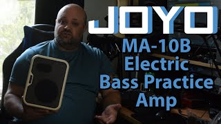 Joyo MA-10B Electric Bass Practice Amp | The Perfect Grab-And-Go Amp For Bass Players