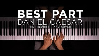 Daniel Caesar ft. H.E.R. - Best Part | The Theorist Piano Cover