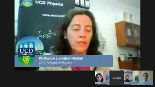 UCD Masters Hangout on Air - Prof Lorraine Hanlon / MSc Space Science and Technology
