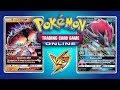 Buzzwole GX / Lycanroc GX vs Zoroark GX  - Pokemon TCG Online Game Play