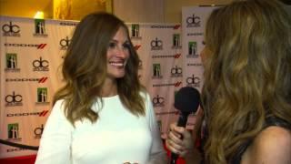 Julia Roberts Dodge Red Carpet Interview - HFA 2013