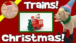 Christmas Special With Butch - Electronic Musical Train Set & Santa Calls!