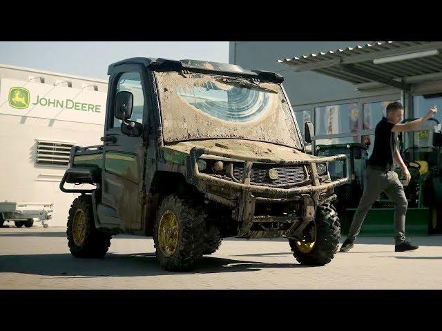 Jazda próbna pojazdem użytkowym Gator | John Deere