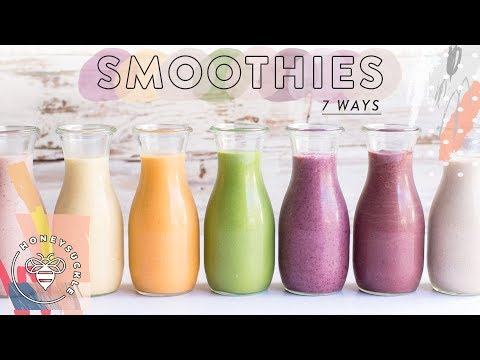 7 Life-Changing HEALTHY SMOOTHIES 🍓| HONEYSUCKLE