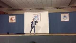 Caqu O'connel Showman - Competencia Santa Rosa Dance CIAD 2013