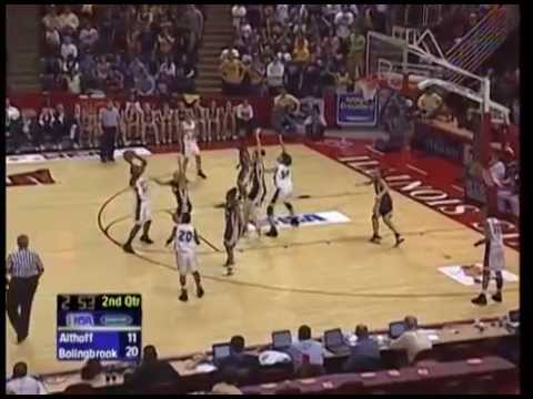 2006 IHSA Girls Basketball Class AA Championship Game: Bolingbrook vs. Belleville (Althoff Catholic)