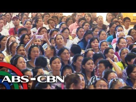 TV Patrol: Kampanya ni Mar Roxas, binasbasan ng kaniyang mga kababayan