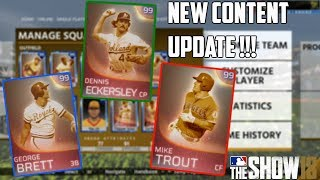 NEW IMMORTALS!! New Future Stars |MLB THE SHOW 18 Content Update! | MLB THE SHOW 18 Diamond Dynasty