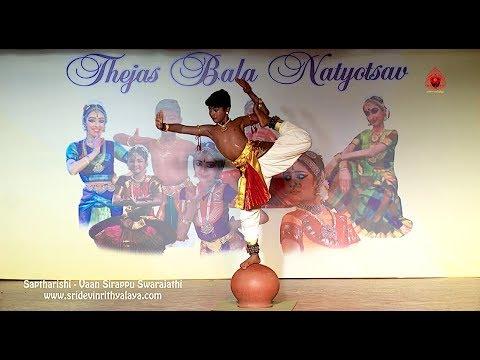 Vaan Sirappu Swrajathi by Saptharishi - Sridevi Nrithyalaya - Bharathanatyam Dance