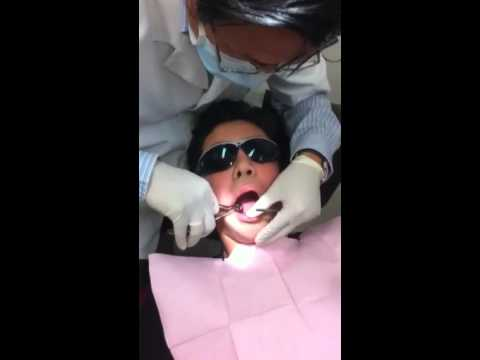 Koray's day at the dentist
