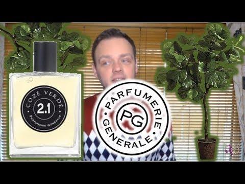 """Parfumerie Generale """"2.1 Coze Verde"""" Fragrance Review"""