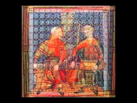 Fiesta en el palacio de Alfonso el sabio