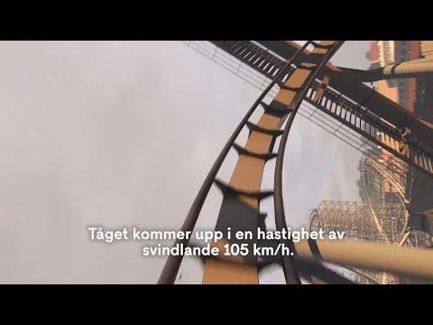 Nu testkörs Lisebergs nya storsatsning – följ med på hela åkturen - Nyheterna (TV4)