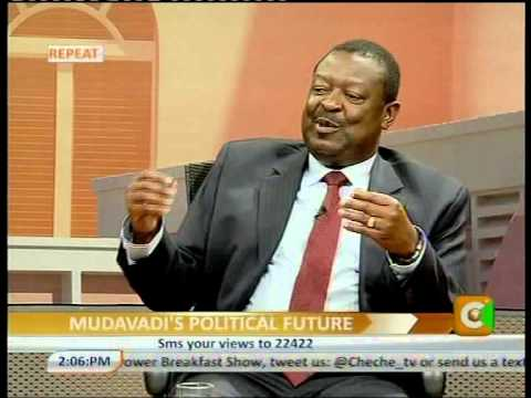 Cheche Interview with Musalia Mudavadi –Party Leader, UDF Part 1