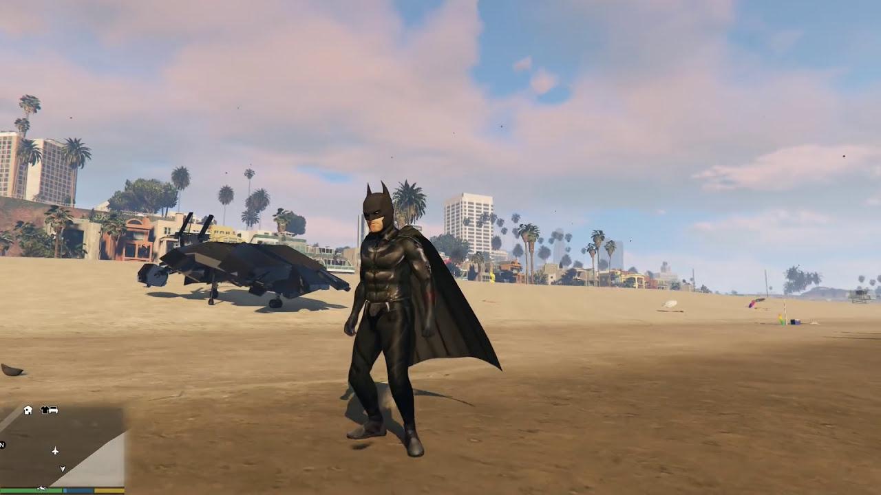 GTA 5 Batman Mod – Siêu Người Dơi đã xuất hiện trong GTA 5