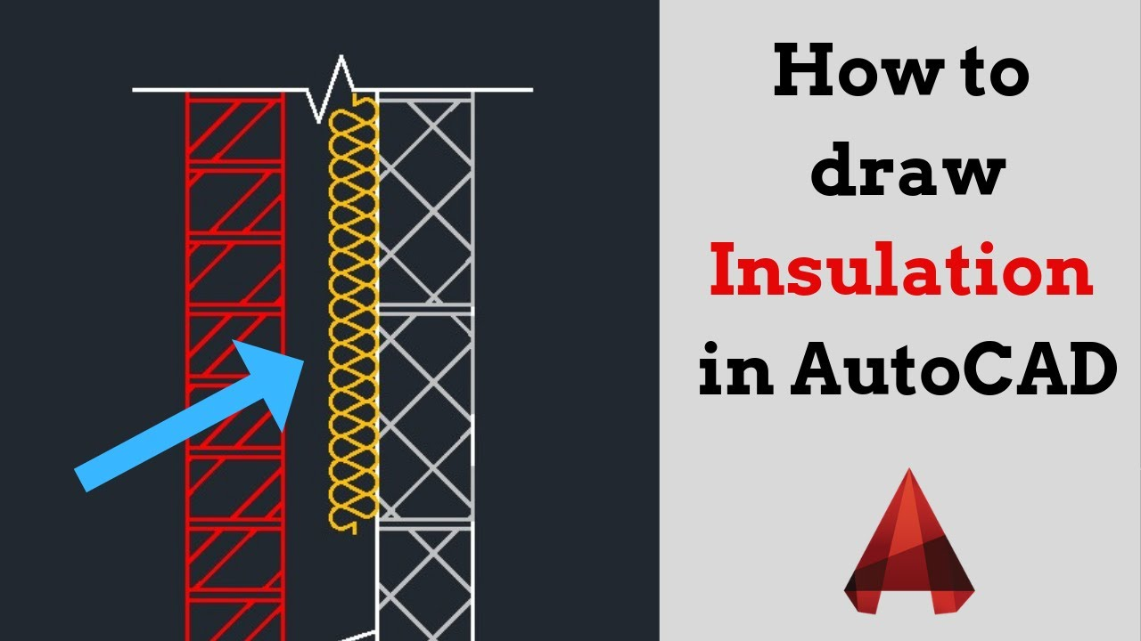 Draw INSULATION in AutoCAD