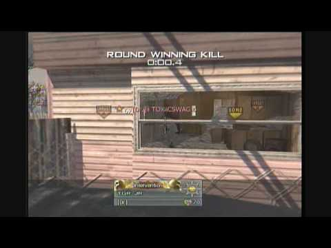 Modern Warfare 2- MW2 Intervention/Barret Sniping Search and Destroy Montage by TGR JR