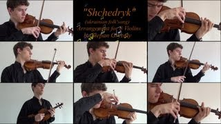 "Stepan Grytsay / ""Shchedryk"" A.K.A ""Carol of The Bells"" [8 violins]"