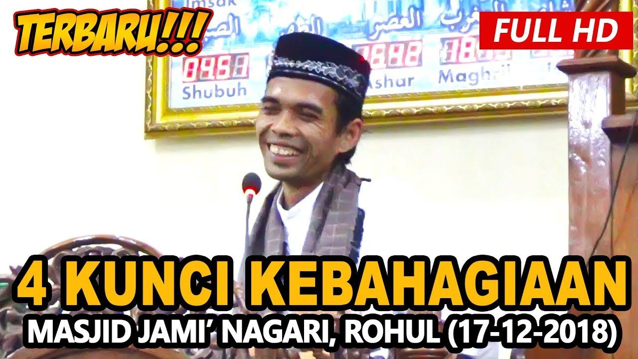Ceramah Terbaru Ustadz Abdul Somad Lc, MA - Masjid Jami' Nagari, Rokan Hulu