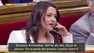 parlament arrimadas presos politics riure respecte
