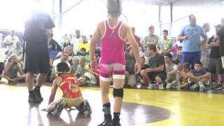 63lbs, finals, Stevo Poulin, Weaver Blue vs Alejandro Herrera, Griffin