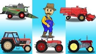 The Beginning Farmer | Tractors | Farm Work | Przygody Rolnika Bajki od początku