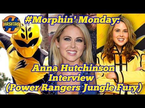 Anna Hutchinson Power Rangers Jungle Fury : Morphin' Monday