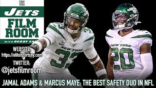 New York Jets Safety Duo Of Jamal Adams & Marcus Maye Is Best In NFL | ESNY Film Room