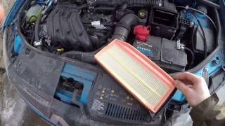 видео Замена воздушного фильтра Reno Sandero