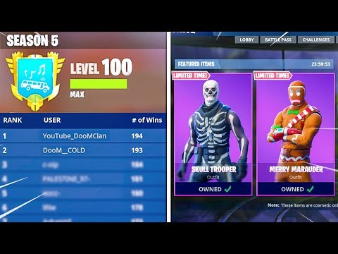 "LVL 74 UNLOCKING MAX ""RAGNAROK"" + ""PERMAFROST"" Pickaxe WORLDS First LEVEL 100 Fortnite SEASON 5 LIVE"