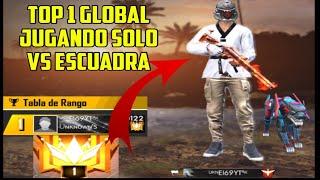 Así juega el Top 1 global en solo vs escuadra!!! //#freefire #El69YT #Topglobal
