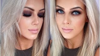 ♡debs/prom Hair And Makeup Tutorial♡ ♡pippa Palette Tutorial♡ Chloe Boucher