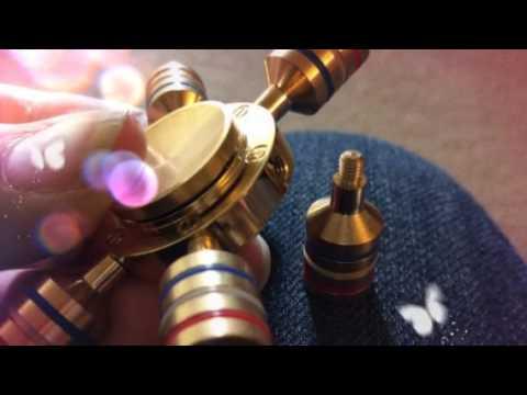 Solid Brass Fidget Spinner