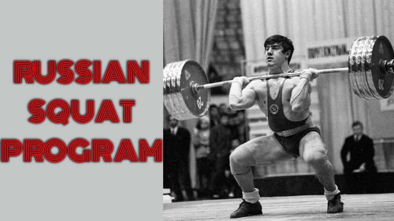 RUSSIAN SQUAT PROGRAM Tips + Spreadsheet (2019)   Lift Vault
