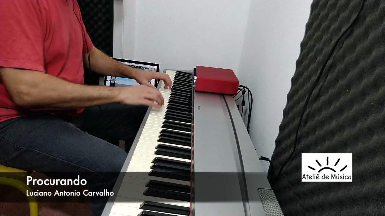 Procurando - para piano solo - no YouTube.