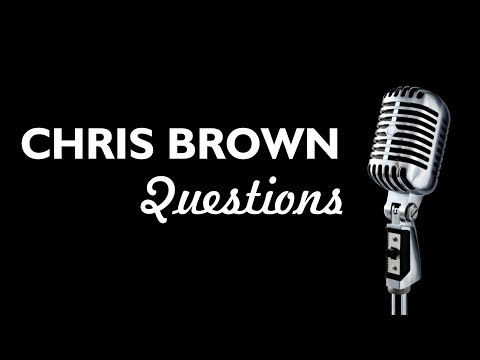 CHRIS BROWN - QUESTIONS ( KARAOKE / BACKING TRACK / INSTRUMENTAL )