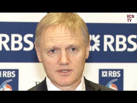 Ireland Coach Joe Schmidt On British Lions Job