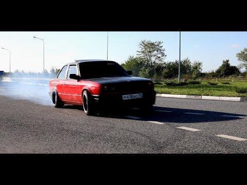 Бешеный BMW E30 на V8 + ГОНКА с MAZDA MPS