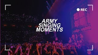 BTS || ARMY singing moments pt 12