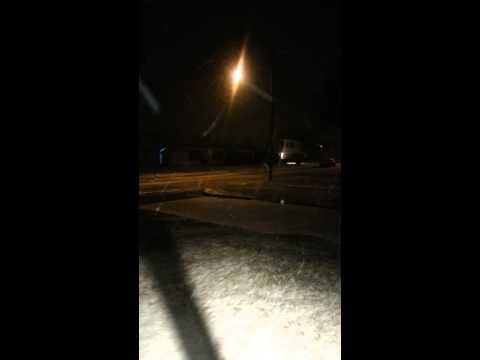 Snow in ft hood