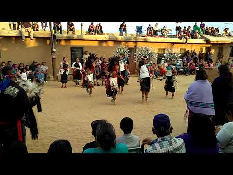 Hopi Butterfly Dance @First Mesa 2017