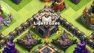 Lightfoxes a Darkfoxes felkészítő klánja | Clash Of Clans Magyarul