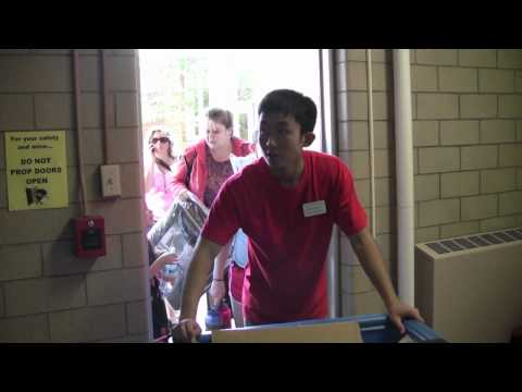 Move-in Day For Ohio Wesleyan's New Students