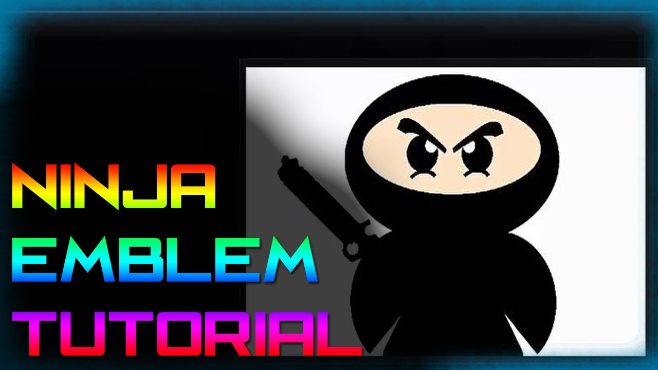 call of duty black ops 3 emblem creator cartoon ninja medium youtube