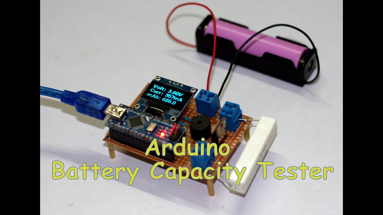 DIY Arduino Battery Capacity Tester - V1 0 : 12 Steps (with Pictures)