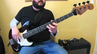 Killer Be Killed - Wings Of Feather And Wax - Heavy Metal Bass Lesson