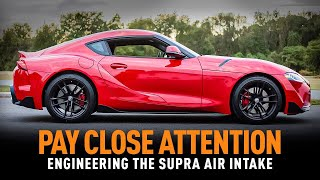 homepage tile video photo for Don't Blink - 2020+ Toyota Supra Air Intake Development